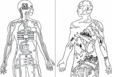 corpo vivo e corpo meccanico